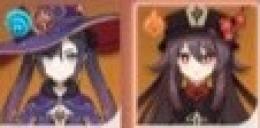 ★5×2 Asia サーバー ★5 胡桃 + モナ リセマラ垢