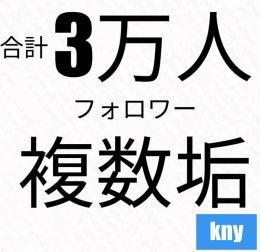 【複数垢・可】Instagram3万フォロワー/最大20垢まで可能・kny