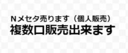 4鯖 Nメセタ 1m=1000円 複数購入可 個人