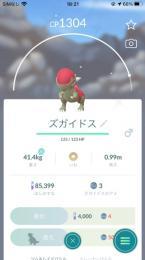 【アカウント】色違いズガイドス(国産)・アグノム・エムリット
