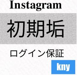 Instagram海外電話認証付き/初期アカウント5個【保証付】kny