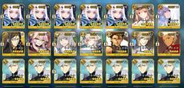 妖精ランスロット宝具5+キャストリア+孔明+マーリン+コヤンスカヤ+オベロン 石1331個